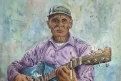 Lucas Martinez from Honduras, Watercolor and Pen